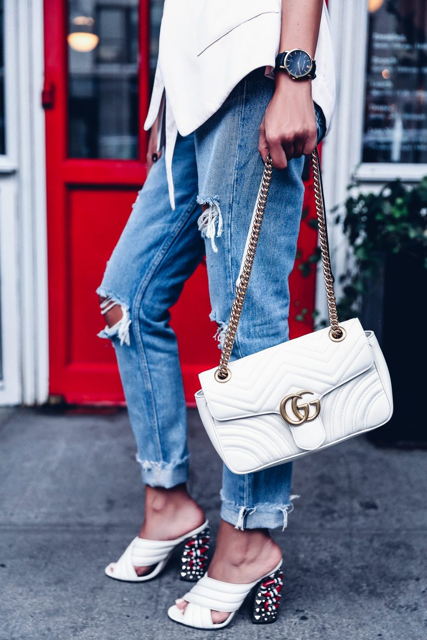 093cd9447b04 NYFW Day 2 - Soft Blazer & Gucci GG Marmont   VivaLuxury
