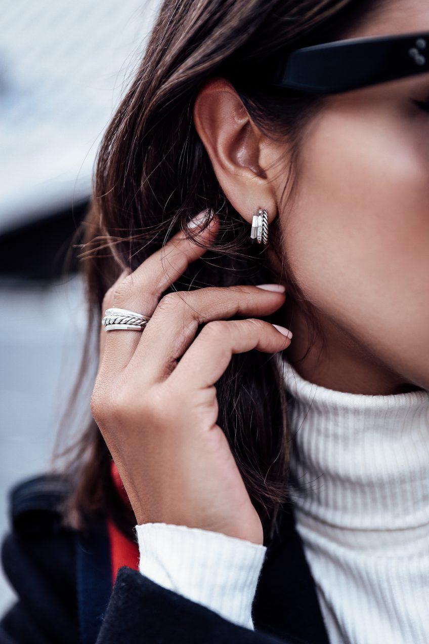 David Yurman 9mm Stax Narrow Ring with Diamonds LMhEZwoZJ
