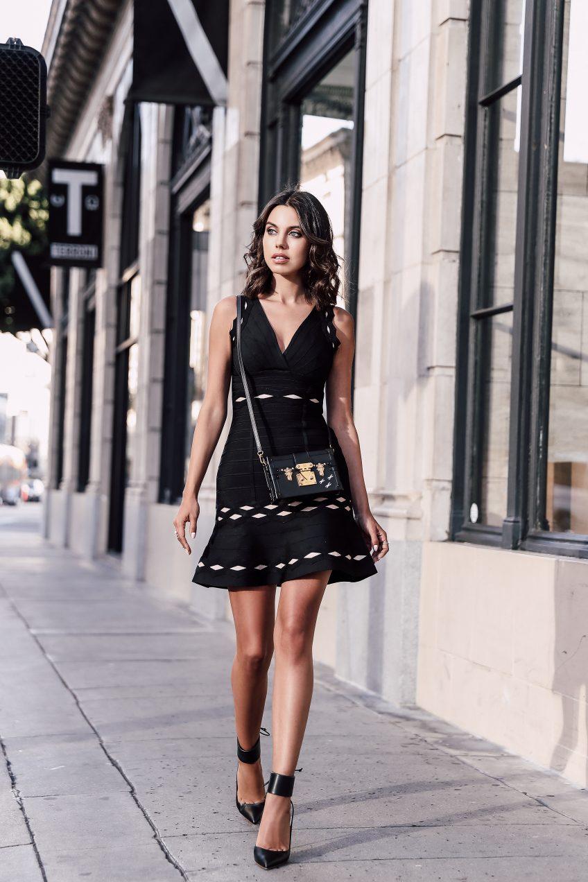 Hervé Léger :: Little Black Dress   VivaLuxury