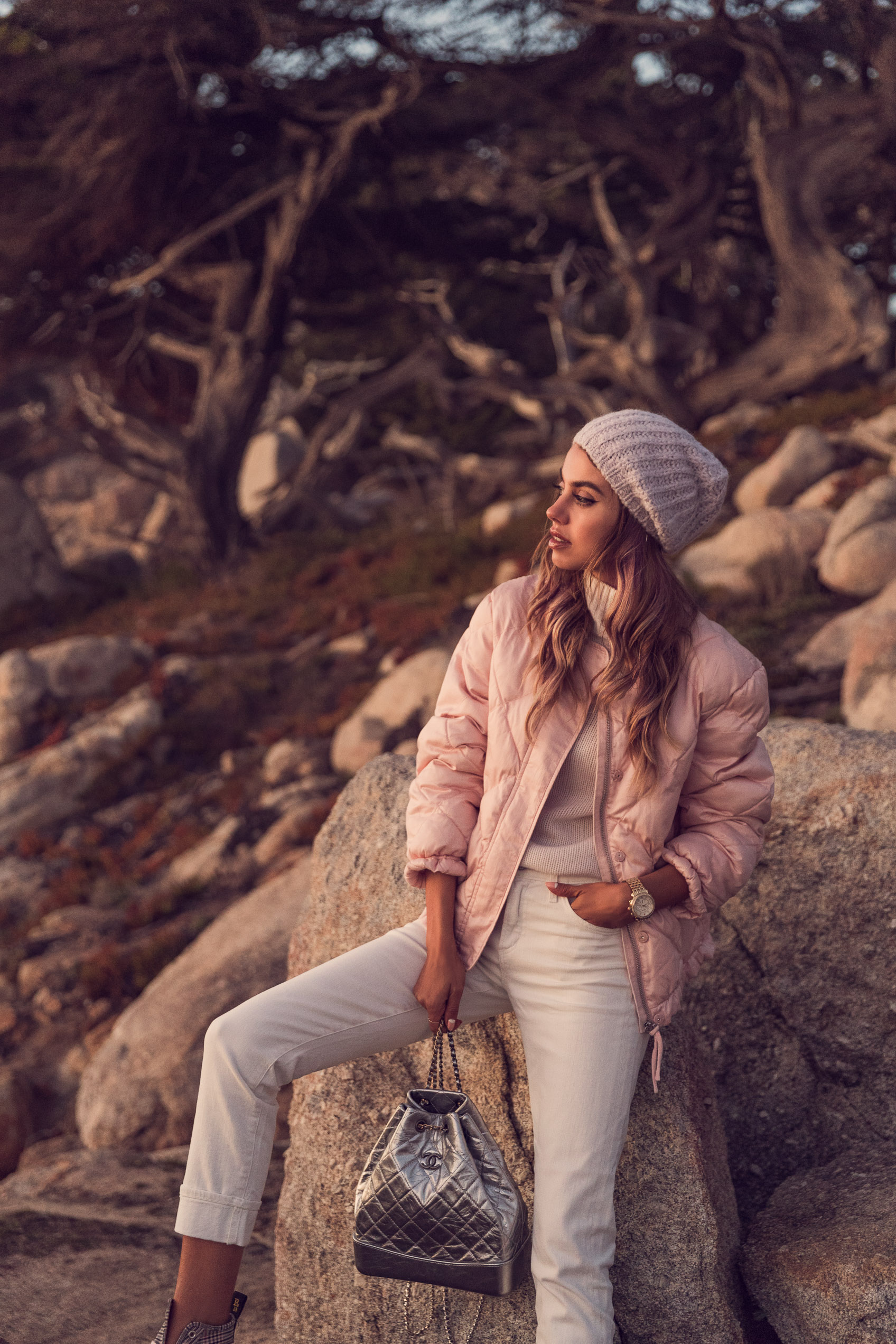 72aae6477050c My number one choice of wearing ice-cream colored hues is outerwear. I love  a pastel colored coat, or a puffer jacket. So good with pretty much any  color ...